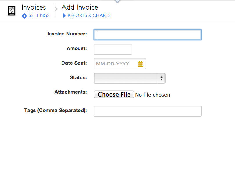 invoices intuit quickbase